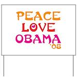 Obama For Change Yard Sign