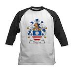 Pistorius Family Crest Kids Baseball Jersey