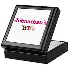 Johnathan's Wife Keepsake Box