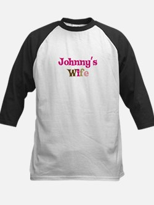 Johnny's Wife Kids Baseball Jersey