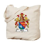 Pflug Family Crest Tote Bag