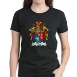 Pflug Family Crest Women's Dark T-Shirt