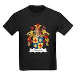 Pfisterer Family Crest Kids Dark T-Shirt
