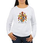 Pfisterer Family Crest Women's Long Sleeve T-Shirt
