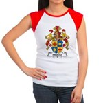 Pfisterer Family Crest Women's Cap Sleeve T-Shirt