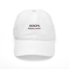 100 Percent Genealogist Baseball Cap