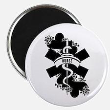 Nurse Heart Tattoo Magnet