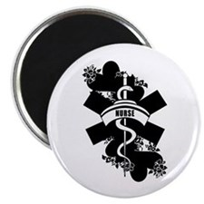 "Nurse Heart Tattoo 2.25"" Magnet (10 pack)"