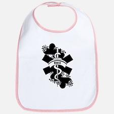 Nurse Heart Tattoo Bib