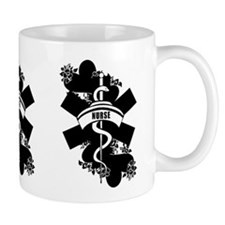 Nurse Heart Tattoo Mug
