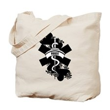 Nurse Heart Tattoo Tote Bag