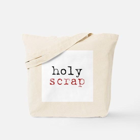 Holy Scrap - Scrapbooking Tote Bag