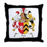 Petz Family Crest Throw Pillow
