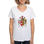 Petz Family Crest Women's V-Neck T-Shirt