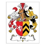 Petz Family Crest Small Poster