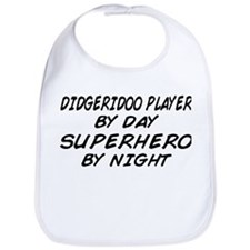 Didgeridoo Superhero by Night Bib