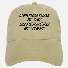 Didgeridoo Superhero by Night Baseball Baseball Cap