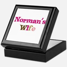 Norman's Wife Keepsake Box