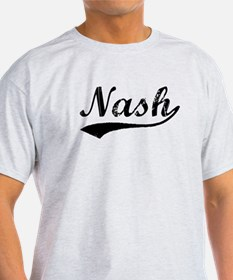 Vintage Nash (Black) T-Shirt