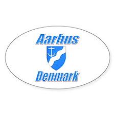 Aarhus Oval Decal