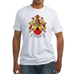 Peternell Family Crest Fitted T-Shirt