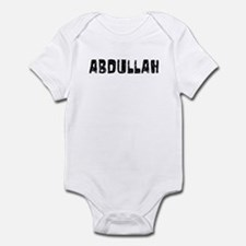 Abdullah Faded (Black) Infant Bodysuit