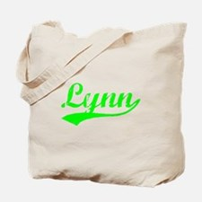 Vintage Lynn (Green) Tote Bag