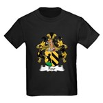 Payr Family Crest Kids Dark T-Shirt