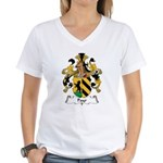 Payr Family Crest Women's V-Neck T-Shirt