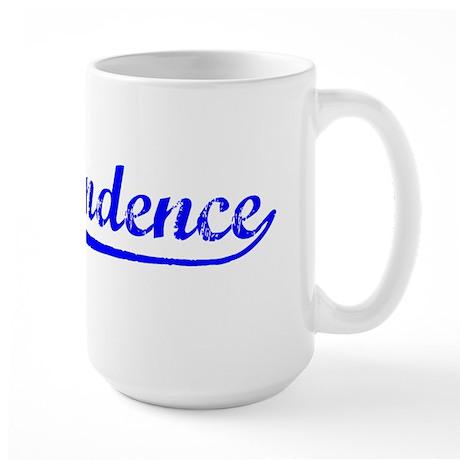 Vintage Independence (Blue) Large Mug