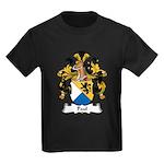 Paul Family Crest Kids Dark T-Shirt