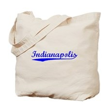 Vintage Indianapolis (Blue) Tote Bag