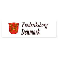 Frederiksborg Bumper Bumper Sticker