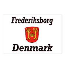 Frederiksborg Postcards (Package of 8)