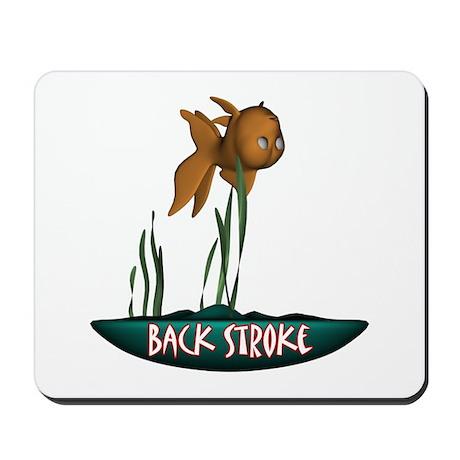 Back Stroke Mousepad