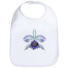 Blue Cat Orchid Bib