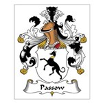 Passow Family Crest Small Poster