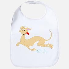 Fawn Greyhound Bib