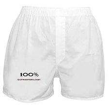 100 Percent Gastroenterologist Boxer Shorts