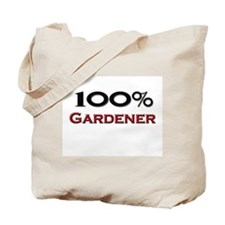 100 Percent Gardener Tote Bag