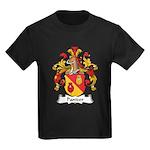 Pantzer Family Crest Kids Dark T-Shirt