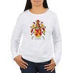 Pantzer Family Crest Women's Long Sleeve T-Shirt