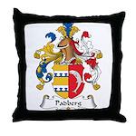 Padberg Family Crest Throw Pillow