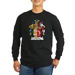 Padberg Family Crest Long Sleeve Dark T-Shirt