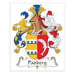 Padberg Family Crest Small Poster