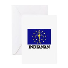 Indianan Greeting Card