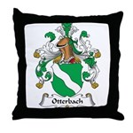 Otterbach Family Crest Throw Pillow