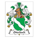 Otterbach Family Crest Small Poster