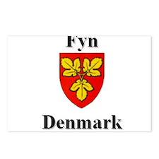 Fyn Postcards (Package of 8)