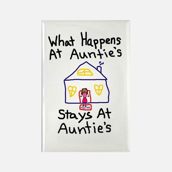 Auntie's House Rectangle Magnet